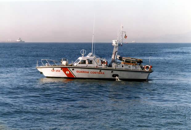 Motovedetta CP 252 Cantieri Canados - Ostia Lido