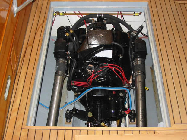 motore sinistro Mercruiser Speranzella Fujiyama