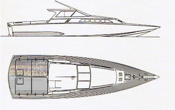 Superyacht Corsara Cantiere delta di Anzio progetto Levi - Pininfarina