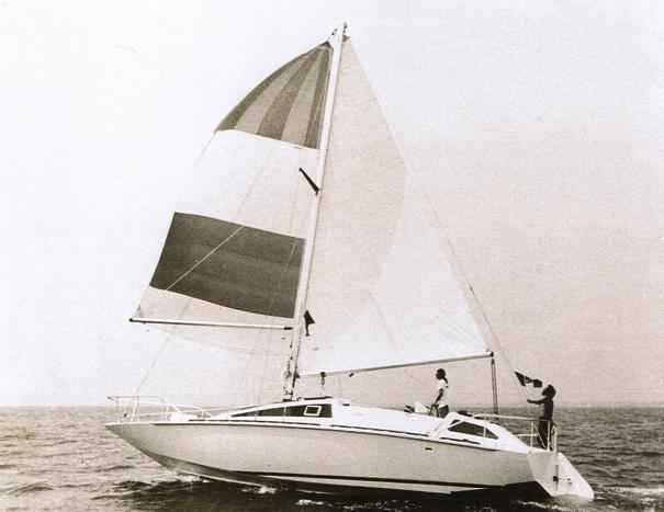 Exocetus Volans in navigazione a vela