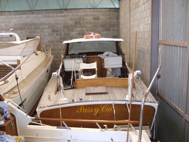 Barca d'epoca classica: Rudy Pussicat 1969