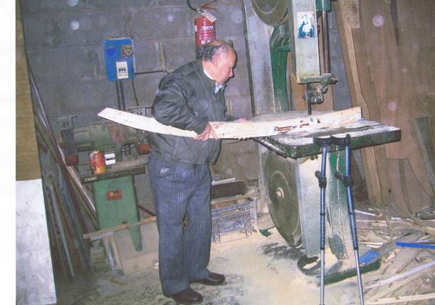 Vittorio Serpa - mastro d'ascia