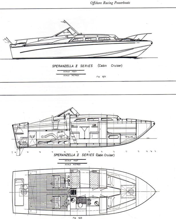 Speranzella II Serie (Cabin Cruiser) 1963