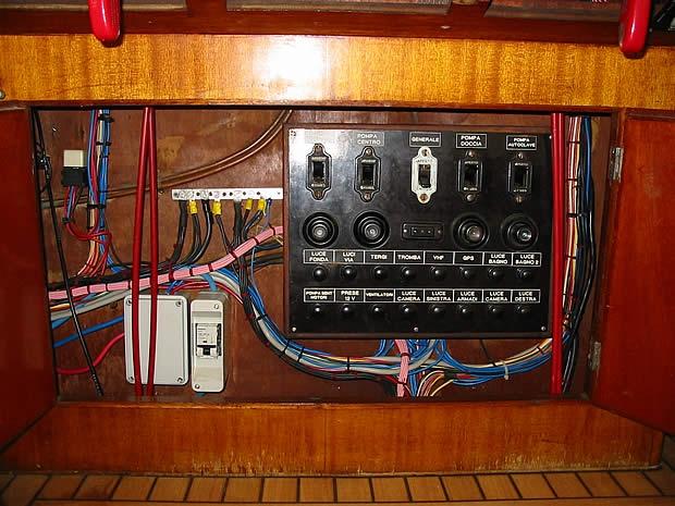 Speranzella Fujiyama quadro elettrico e impianto elettrico