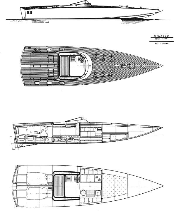 Barca d'epoca Hidalgo Levi