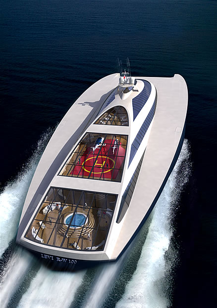 Levi Ram Wing 100 Luxury Superyacht