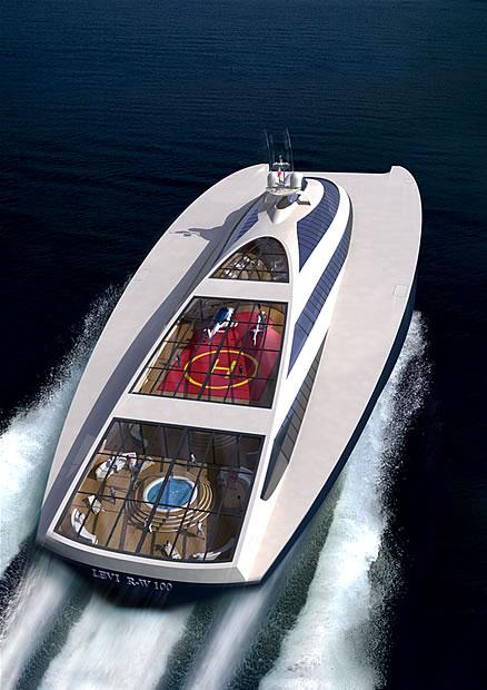 Levi Ram Wing 100 Luxury Superyacht