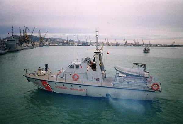 CP 243 durante la missione in Albania