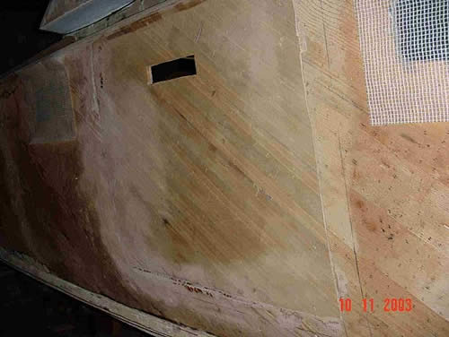 Restauro barca Classica Italcraft Drago
