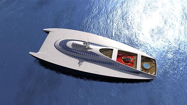 Barca da 100 metri fuoritutto e 100 nodi - RW 100 Levi