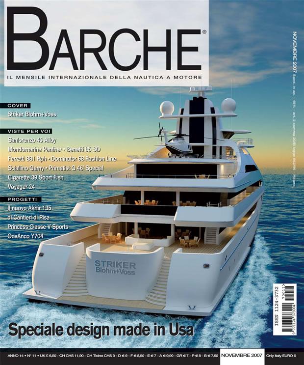 Barche rivista nautica mensile - novembre 2007