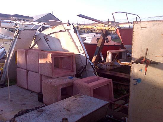 Mancato Restauro Barca Levi - Demolizione