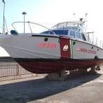Restauro motovedetta d'epoca classe Super Speranza