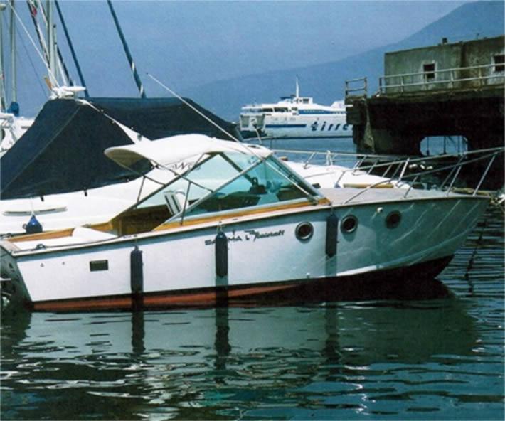 Sarima Italcraft: barca d'epoca