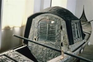Gondola veneziana costruita sul Lago di Como
