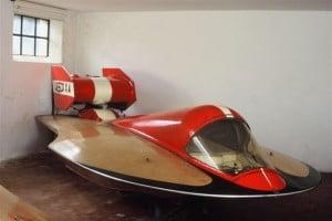 Museo di Lario - Lesco scafo sa corsa fuoribordo che fu di Carlo Leto di Priolo