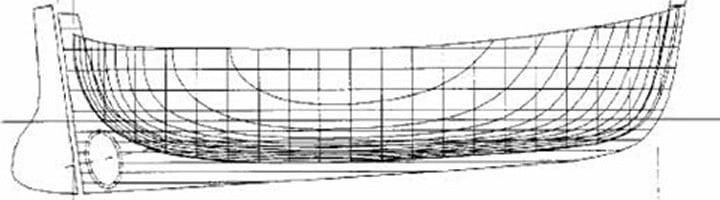 Piani di costruzione gozzo tradizionale di 5.0 - 6.0 metri
