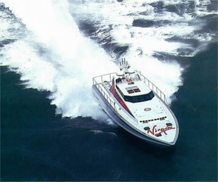 Virgin Atlantic Challenger II - Per il record inglese, trasmissioni ed eliche italiane.