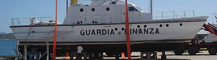 Baglietto 20M Ex motovedetta Classe Meattini GdF G34 D'Aleo