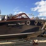 Bellissima barca classica Sarima dei cantieri Italcraft di Gaeta: Marlie
