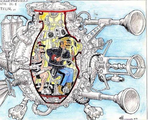 Le vignette di Franco Harrauer
