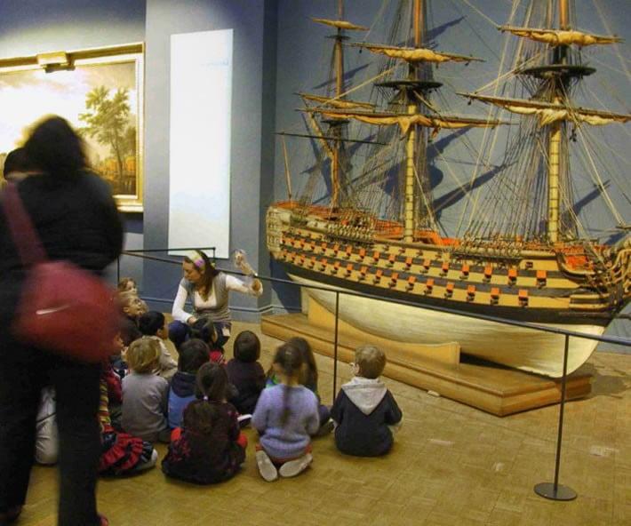 Parigi: Museo della Marina