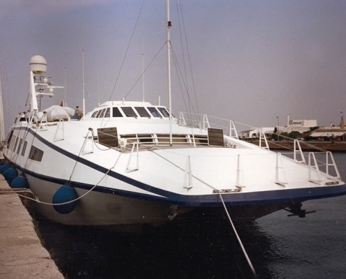 Catamarano Harrauer
