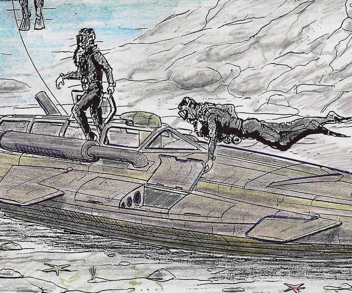 Sommergibile Nessie - ultima puntata