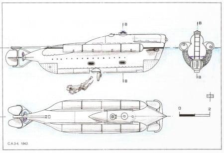 Sommergibile CA 3