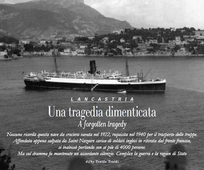 Lancastria: Una tragedia dimenticata