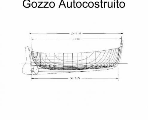 Gozzo autocostruito - progetto Sergio Abrami (I puntata)