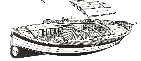 modellino navale Onda