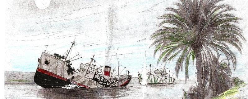 nave spezzata