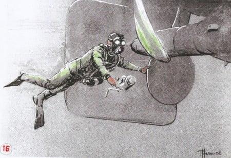 posizionamento bauletto esplosivo