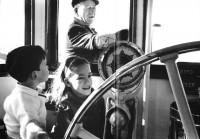 Con Ethan e Aissa nel 1965