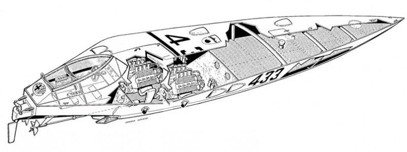 Dart 38 spaccato assonometrico