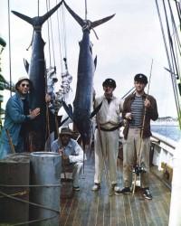 John Wayne pesca