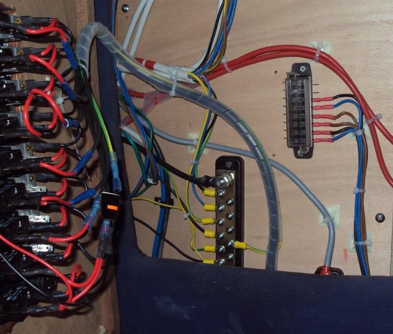 Restauro barche l 39 impianto elettrico prima puntata for Preventivo impianto elettrico
