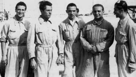 alcuni piloti operazione Malta 2 Decima Mas