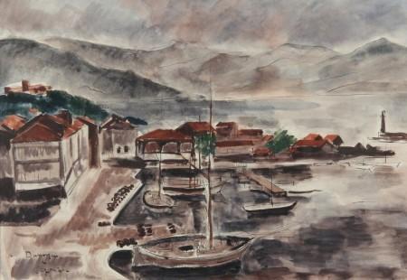 Andre-Dunoyer-de-Segonzac-Port-de-Saint-Tropez