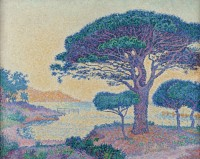 Signac-Les-pins-parasols
