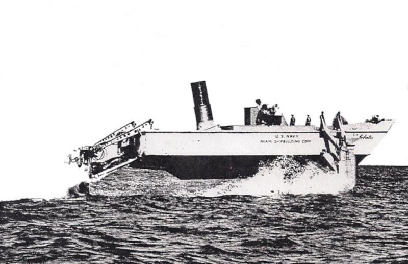 sperimentazione-trasmissione-CABI-aliscafo-Miami-Shipbuilding-Corp.-1959