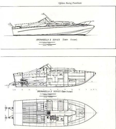 Speranzella II Cabin Cruiser