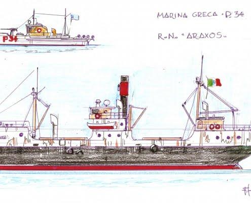 R.N. Araxos - prima puntata