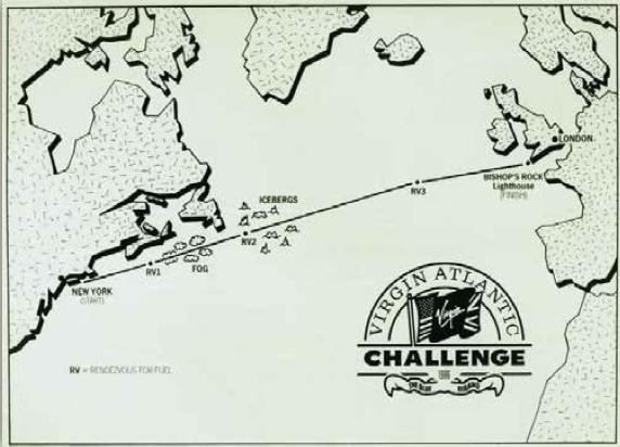 virgin atlantic challenge