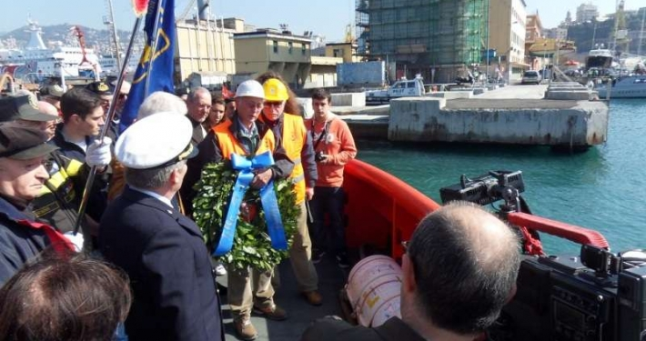 44^ anniversario del naufragio della M/N London Valour