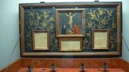 Altare portatile nave di Vasco De Gama