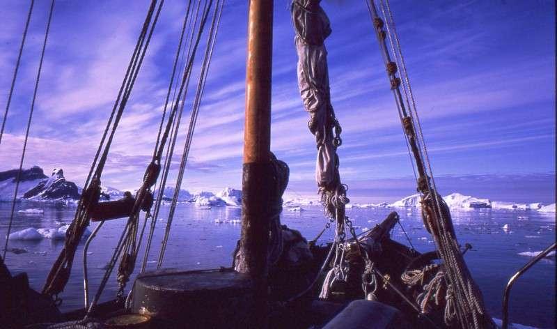 Feluca in Antartide Marina Militare Italiana