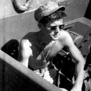 jfk on boat