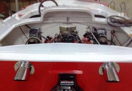 Strale vano motore e propulsore